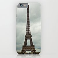 Eiffel Tower on a Cloudy Day iPhone 6 Slim Case