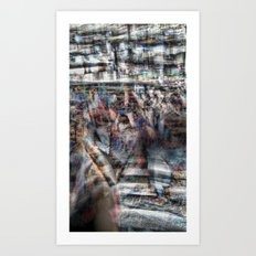 And the longer you linger, the linger you long. 11 Art Print