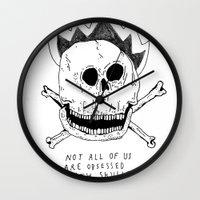 GETTING RID OF PUNK-ROCK… Wall Clock