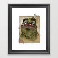 Ogre George Framed Art Print