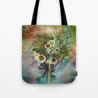 Fractal Bouquet - Color … Tote Bag