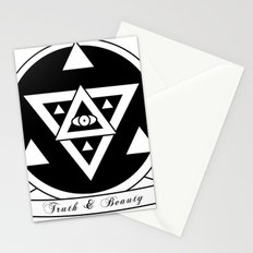 Truth and Beauty Stationery Cards