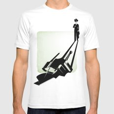 the pianist Mens Fitted Tee White SMALL