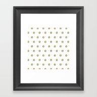 Framed Art Print featuring Diamands And Flowers by Better HOME