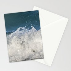 Sapphire and Crystals Saltwash Stationery Cards
