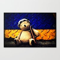 Palin Bear Canvas Print