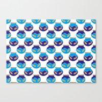 Fish Bowls Canvas Print