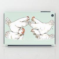 Chicken Fight iPad Case