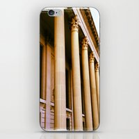 Lovely Columns (Yale, CT… iPhone & iPod Skin