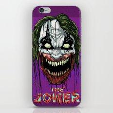 Joker Zombie iPhone & iPod Skin