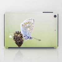 Common Blue Butterfly iPad Case