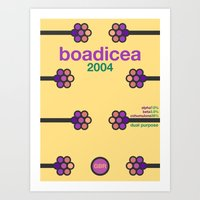 Boadicea Single Hop Art Print