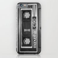 iPhone Cases featuring Tape by RMK Photography