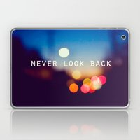 never look back Laptop & iPad Skin
