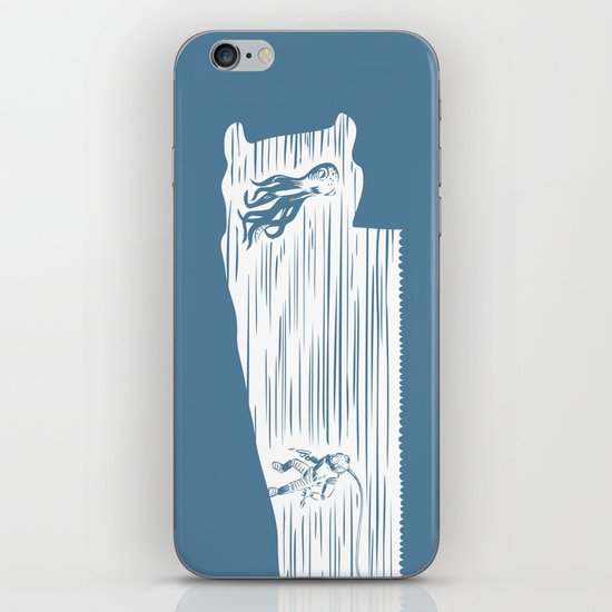 Deep Seasaw Diver iPhone & iPod Skin