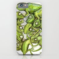 iPhone & iPod Case featuring Chameleons by Maria Forrester