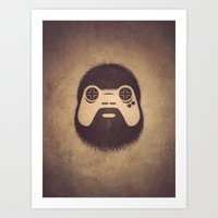 The Gamer Art Print