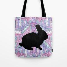 Rabbit Pattern Tote Bag