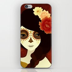 La Muertita iPhone & iPod Skin