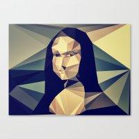 :: Mona Lisa :: Canvas Print