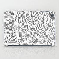 Abstraction Linear Inver… iPad Case
