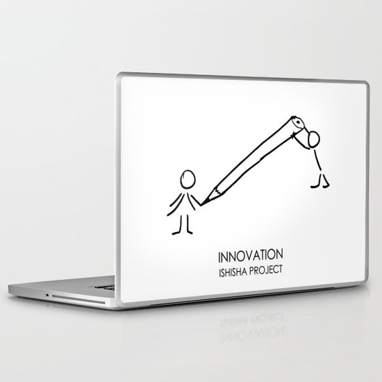 INNOVATION by ISHISHA PROJECT Laptop & iPad Skin