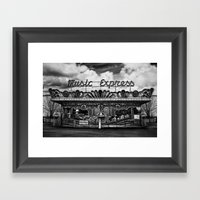Music Express Framed Art Print