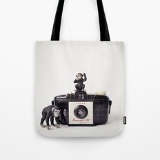 The Monkies and The Brownie Tote Bag
