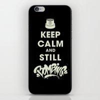 Keep Bombing iPhone & iPod Skin