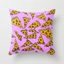 Pizza For Daze Throw Pillow