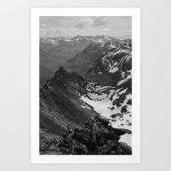 Archangel Valley Art Print