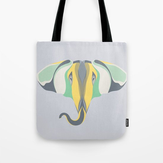 Elephant Gun Tote Bag