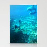 Under SeaWorld Stationery Cards