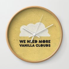 We need more vanilla clouds. Wall Clock