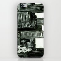 Black And White Philly S… iPhone & iPod Skin