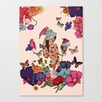 Color Splash Canvas Print