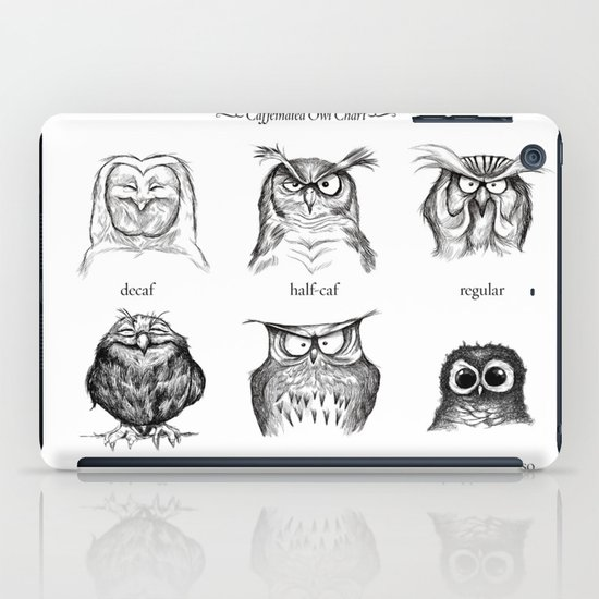 Caffeinated Owls iPad Case