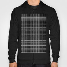 Weave Black and White Hoody