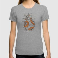 BB-8 Womens Fitted Tee Tri-Grey SMALL