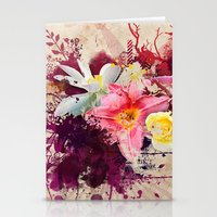 Country Floral Stationery Cards
