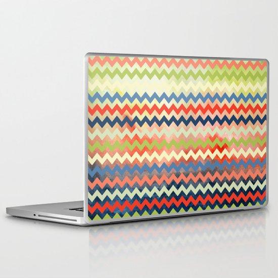Watercolor Chevron Laptop & iPad Skin