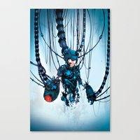 Would You Like To Restar… Canvas Print