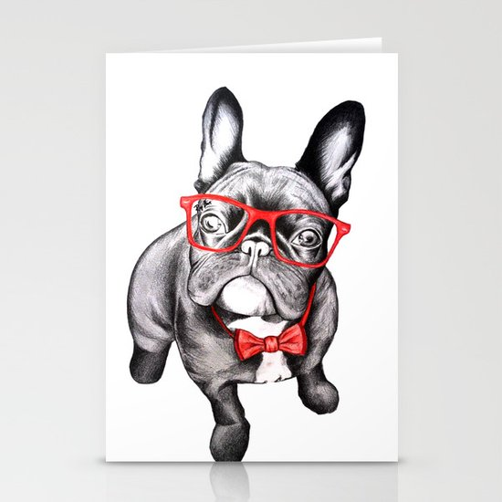 Happy Dog Stationery Card