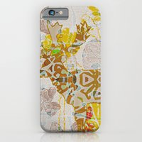 iPhone & iPod Case featuring Deers with flowers  by Ted and Rose Design
