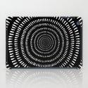 Fjorn black iPad Case