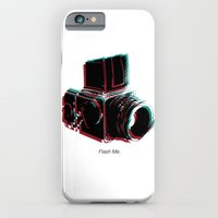 iPhone & iPod Case featuring Flash Me by Pifla