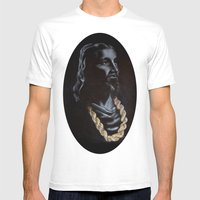 My Jesus Chain Mens Fitted Tee White SMALL