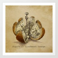 Clockwork Orange  Art Print