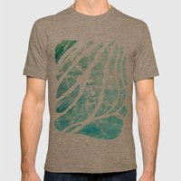 The See-Thru Sea Mens Fitted Tee Tri-Coffee SMALL