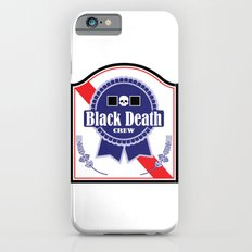 Black Death Ribbon (Color) Slim Case iPhone 6s